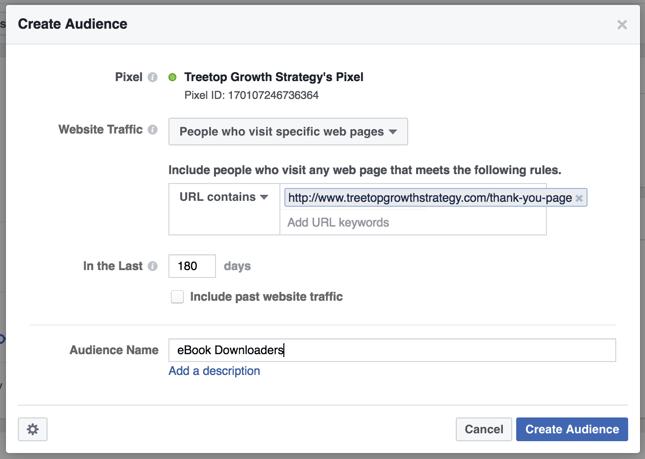 Facebook-marketing-custom-audience-building-example